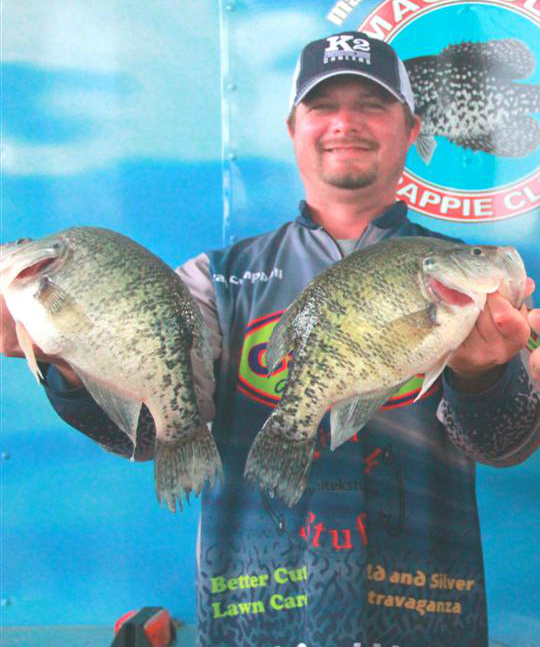 Brad chappell profile pic crappie crazy crappie fishing for Ross barnett fishing report