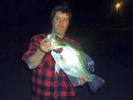 Dave goen indiana crappie crappie crazy crappie fishing for Ice fishing indiana