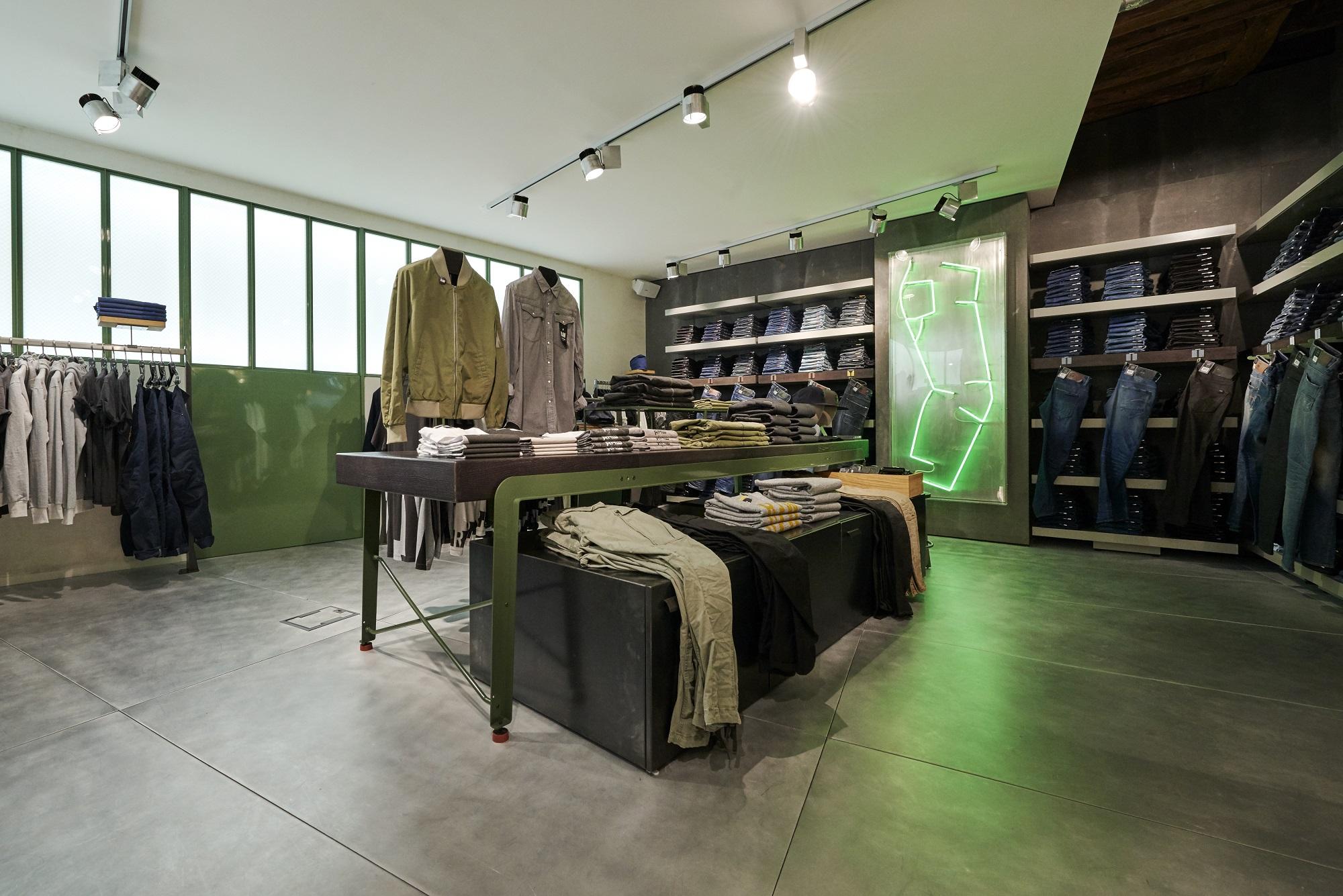 GStar RAW opens a new boutique in Paris Bastille  Crash