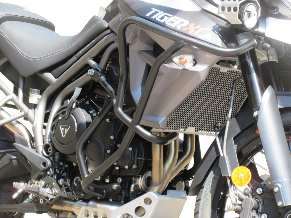 medium resolution of details about crash bars heed triumph tiger 800 xc xr 2015 2019 bunker bags