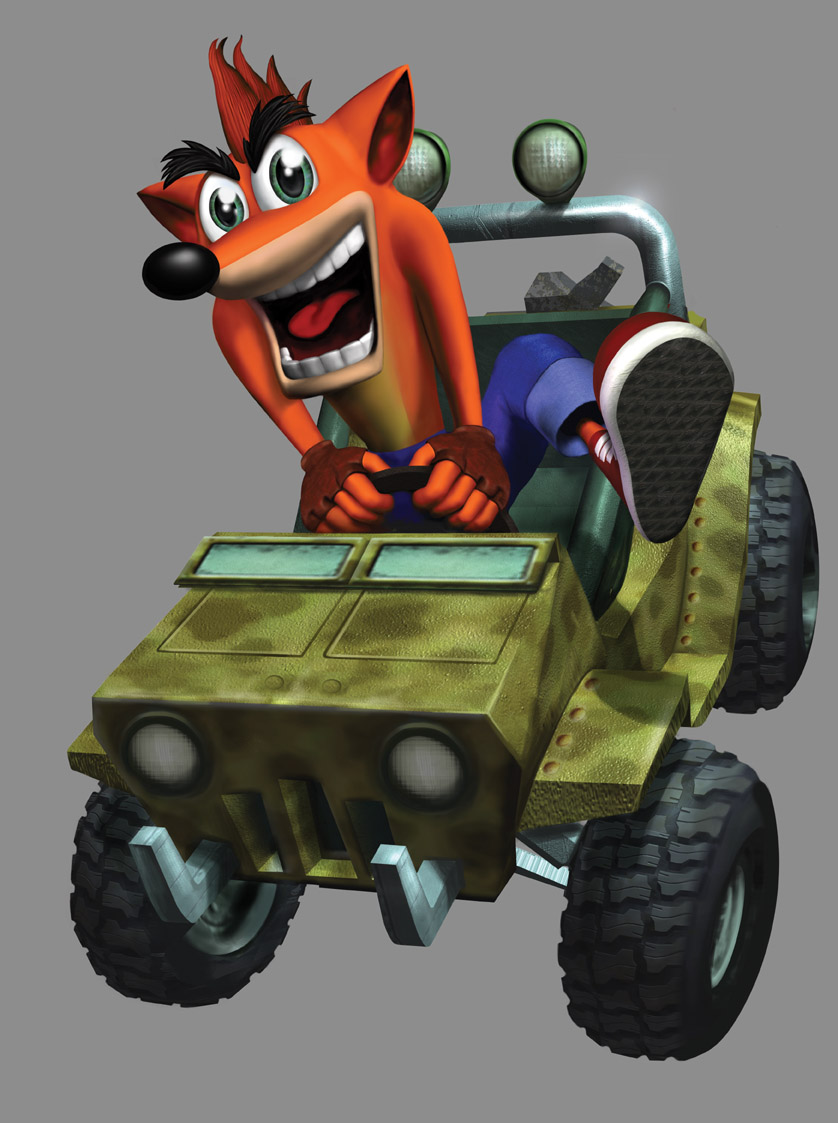 Crash Bandicoot The Wrath Of Cortex Character Renders