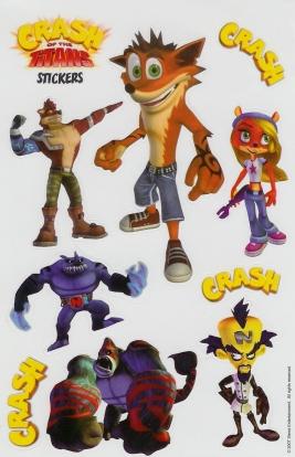 Crash Of The Titans Limited Editions Crash Mania