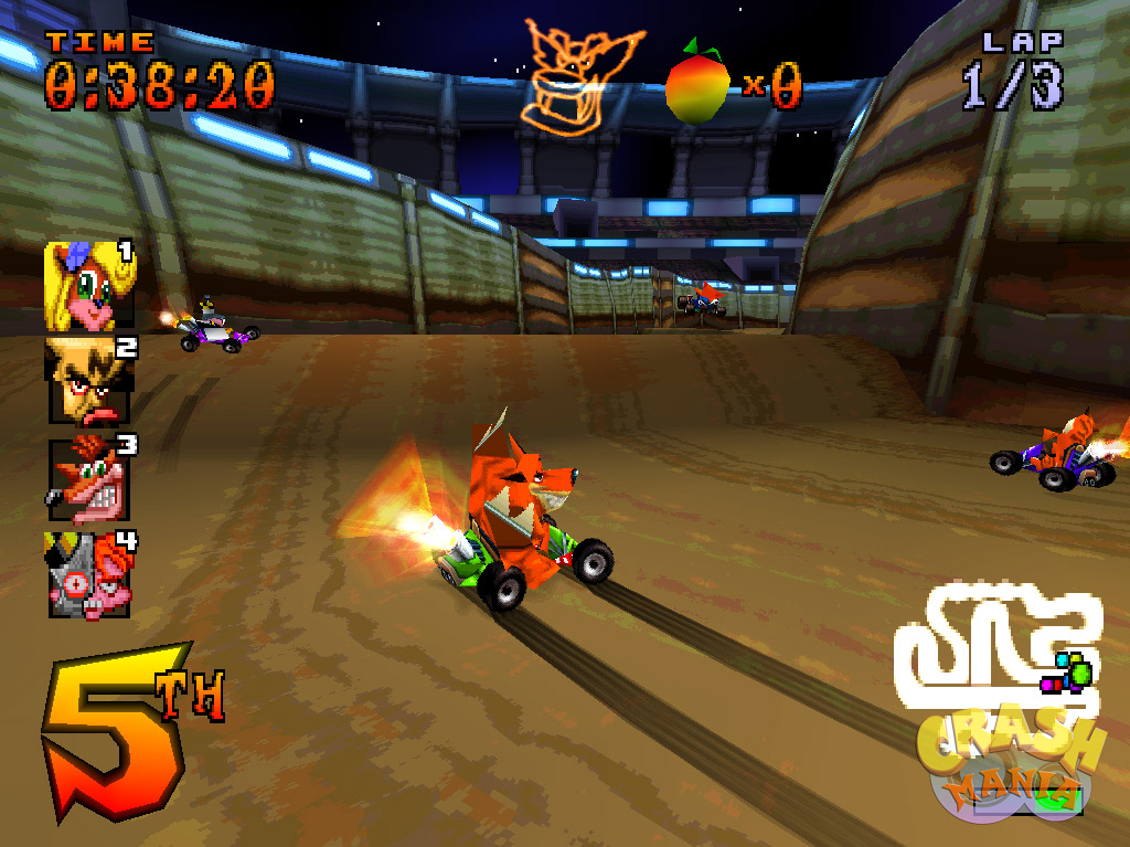 CTR Crash Team Racing  Screenshots  Crash Mania