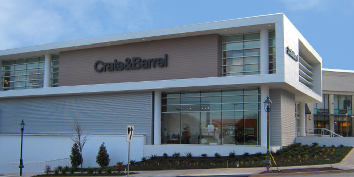 Furniture Store Towson MD  Towson Town Center Mall  Crate and Barrel