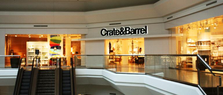 Furniture Store Short Hills NJ  The Mall at Short Hills  Crate and Barrel