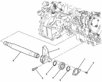 Cobalt, ION Intermediate Shaft Kit 25921572
