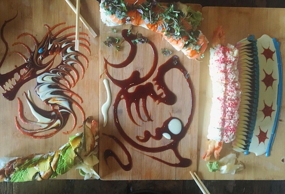 Yuzu Sushi and Robata Grill, Chicago