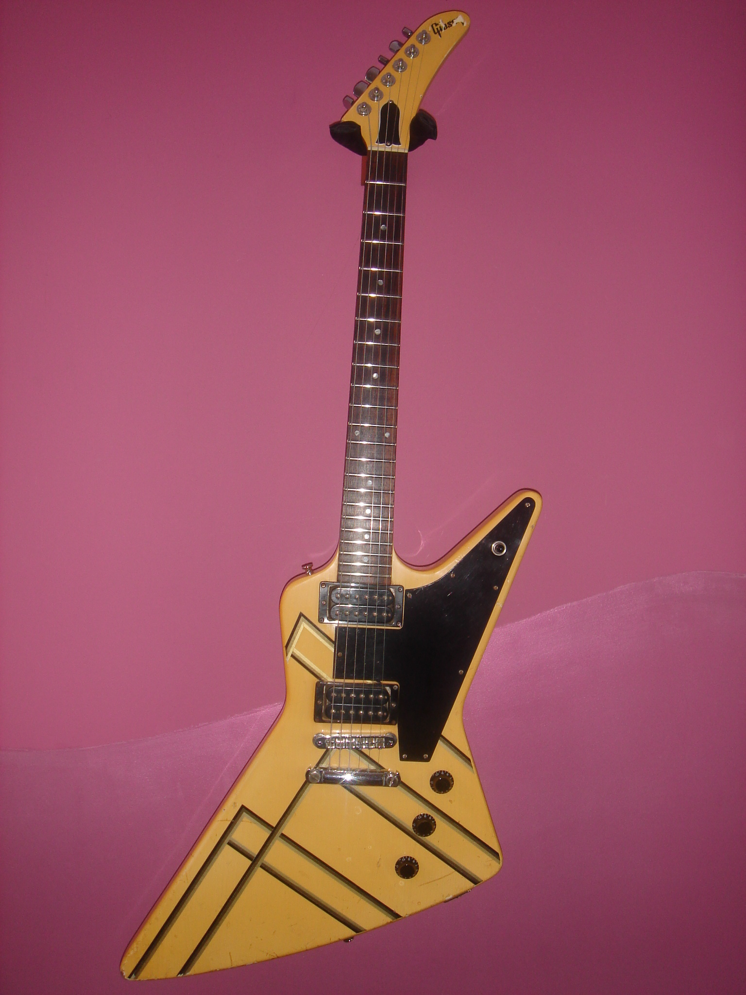 1984 Gibson Explorer Custom Graphic