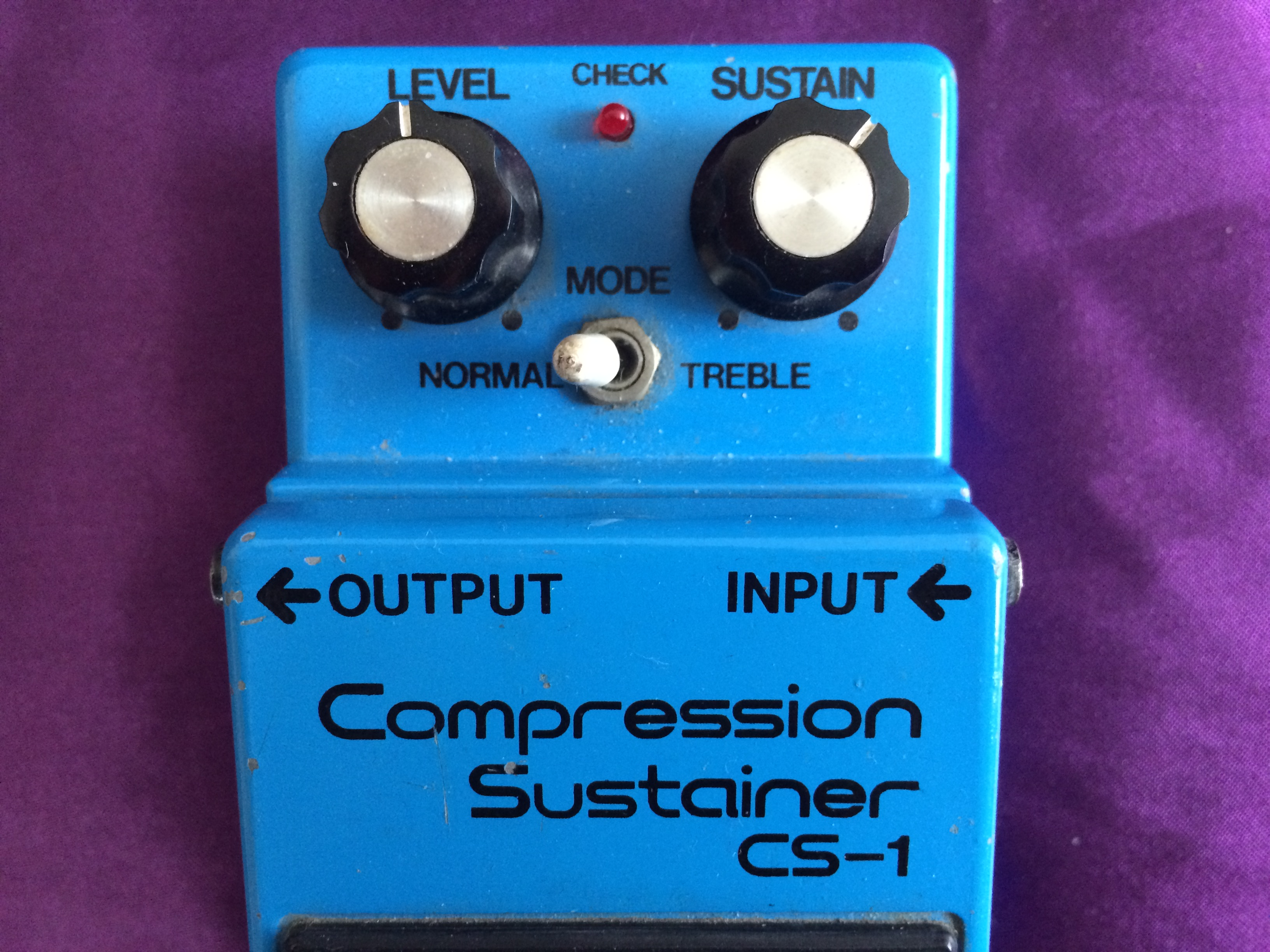 1980 BOSS CS-1 Compression Sustainer