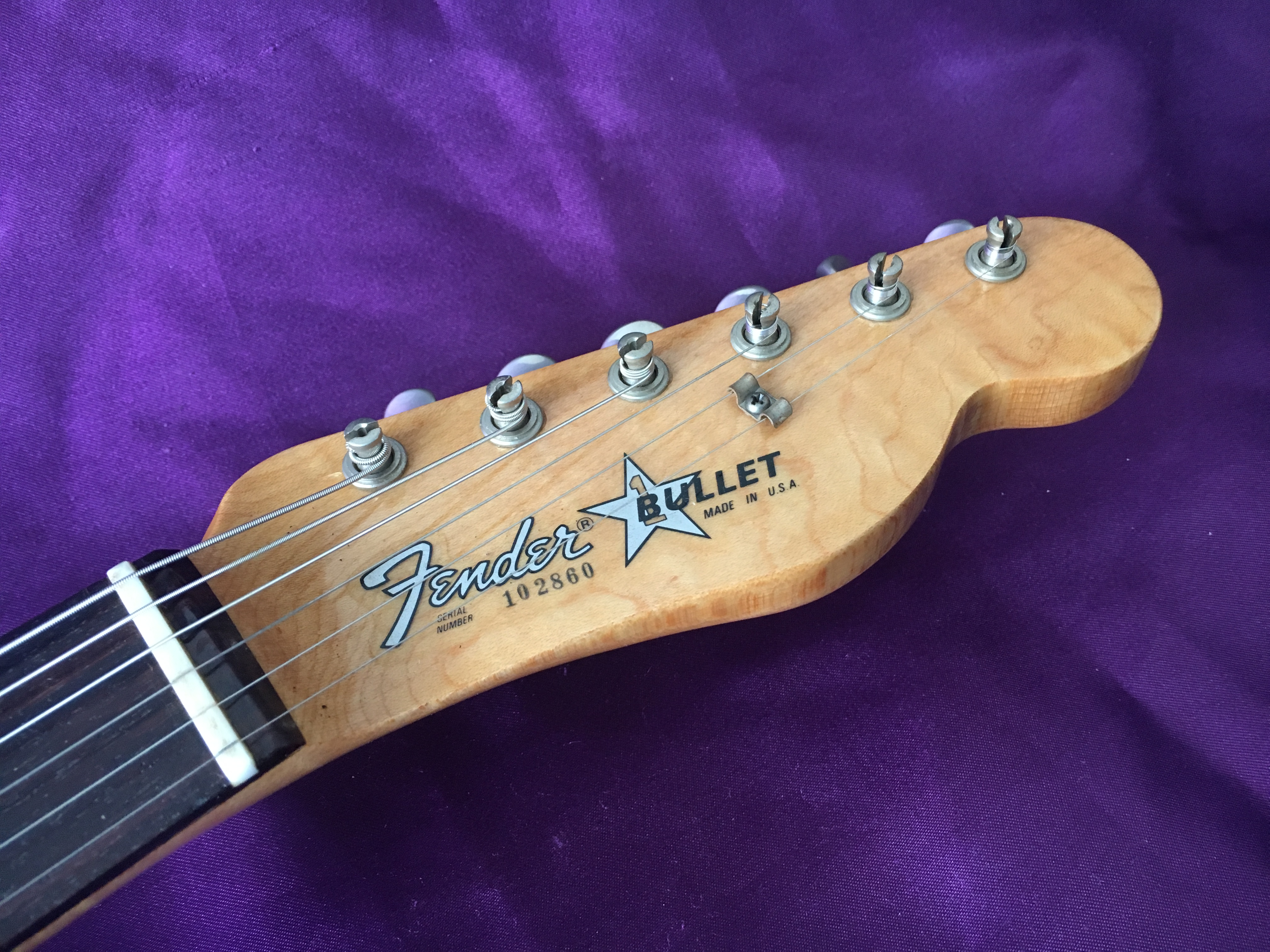 1981 Fender Bullet