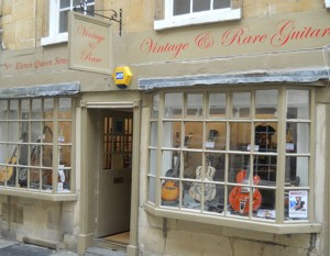 Vintage & Rare Guitars, Bath