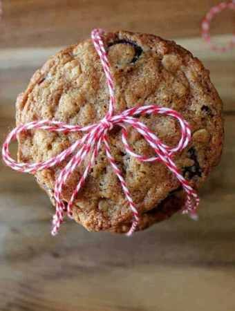 Oatmeal Cookies With A Twist. This adaptable recipe bakes up a fragrant cookie with a crisp outside and tender inside. Click through is you love a good cookie!   cravethegood.com