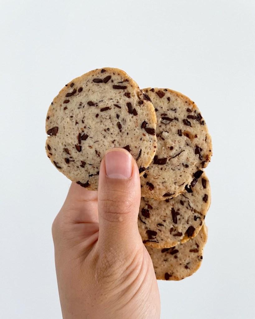 Chocolate Espresso Bean Sourdough Discard Cookies