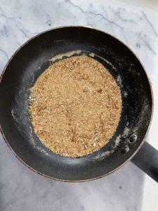 toasted milk powder