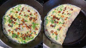 chinese bacon & chive jian bing