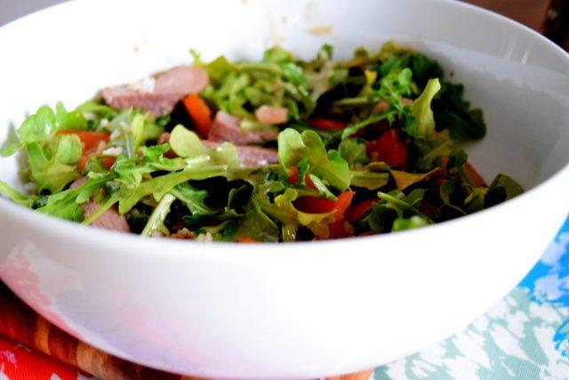 Asisan Steak Salad