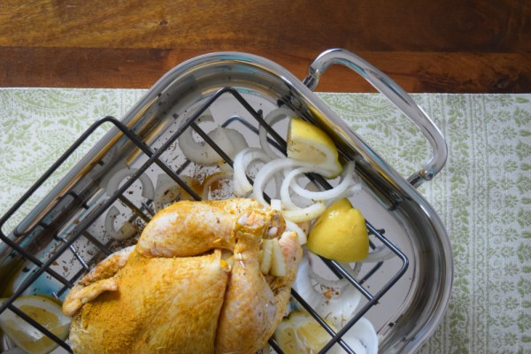 Oven Roasted Chicken with Spices