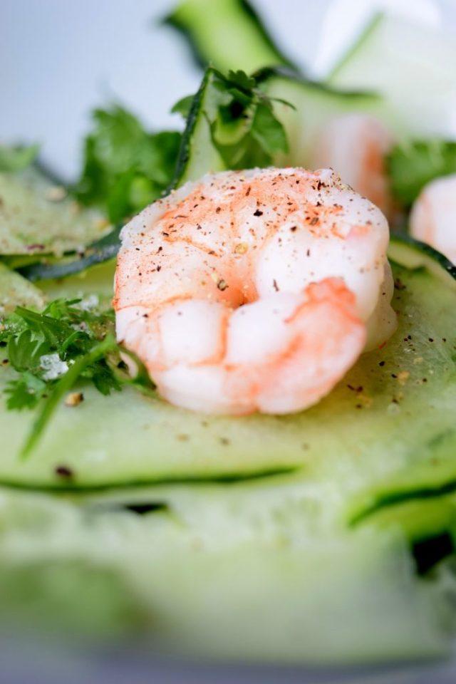 Crispy Cucumber and Shrimp-001