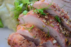Fennel Rosemary Crusted Pork Tenderloin-001