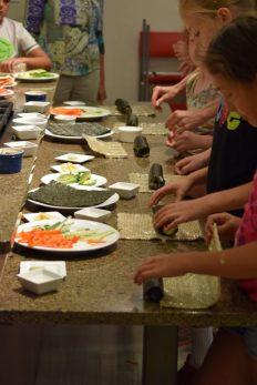 Kid's Sushi Class 7.25.15-055