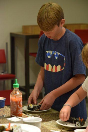 Kid's Sushi Class 7.25.15-119
