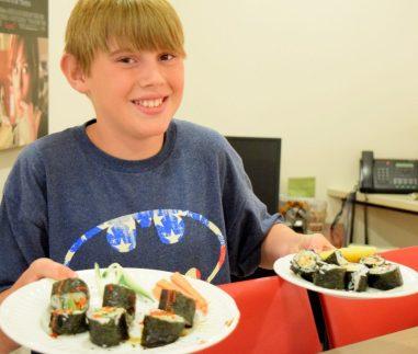 Kid's Sushi Class 7.25.15-145