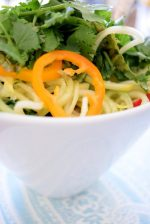 Raw Asian Noodle Salad-010