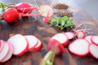 Sweet Radish and Rye