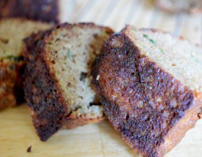 Coconut Zucchini Bread-003