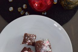 Dark Chocolate Peppermint Brownies-016