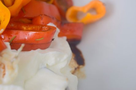 Mini Sweet Peppers and Whipped Coconut Cream-007