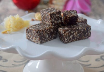 Raw Sauerkraut Brownies