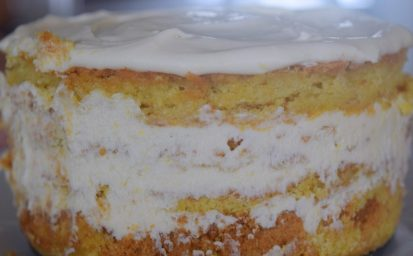 Lemon Curd Limoncello Layer Cake-038