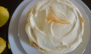Lemon Curd Limoncello Layer Cake-045