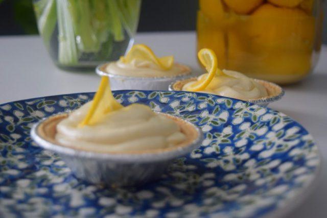 Little Lemon Cream Tartlettes