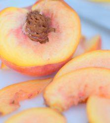 Honeyed Wine Peaches & Pork-004