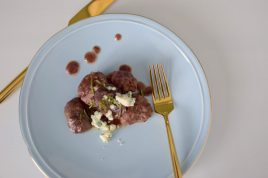 Rosemary Wine Meatballs and Mushrooms-012