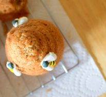Honeybee Cupcakes and Bread Pudding-025