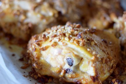 Tahini Fig and Pecan Crusted Chicken-011