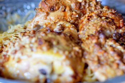 Tahini Fig and Pecan Crusted Chicken-014