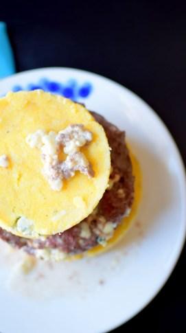 Blue Cheese Corn Cake Burger Beacon-005