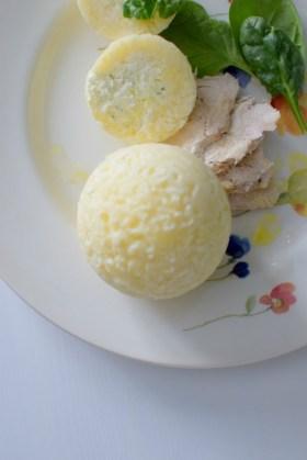 Creamy Chive Risotto Balls-018