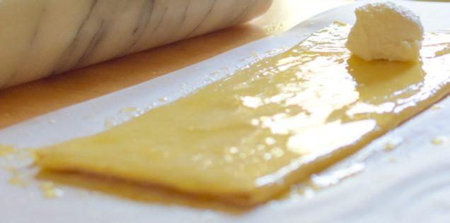 Honeyed Goat Cheese Pastry Diamonds-008