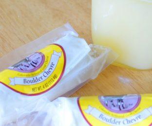 Honeyed Goat Cheese Pastry Diamonds