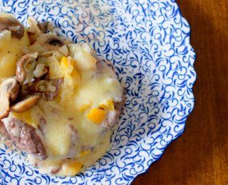 Lemon Swiss Burger Mushroom Melt-005