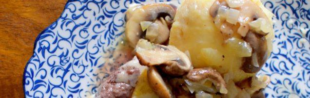 Lemon Swiss Burger Mushroom Melt-006