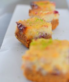 Blackcurrant Lime Cheesecake Bars-029