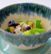 Blueberry Basil Avocado Salad