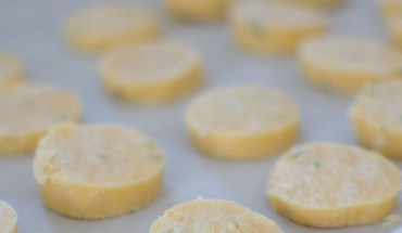 Lemon Rosemary Shortbread Cookie Coins-007