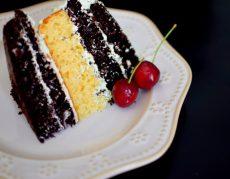 Rustic Pistachio Choclolate Vanilla Layer Cake-014
